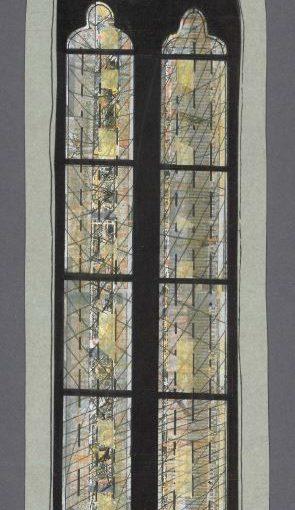 Altar im Licht – Kirchenfenster von Günther Grohs in Wernigerode