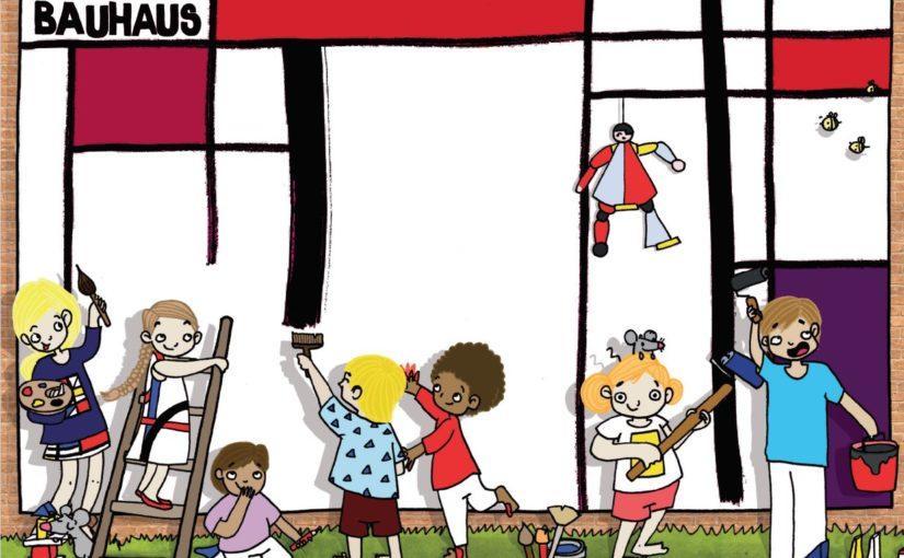 THINK BAUHAUS: Schmückt den Wasserturm Süd in Halle!  Ein Wettbewerb für Kinder und Jugendliche aus Sachsen-Anhalt.