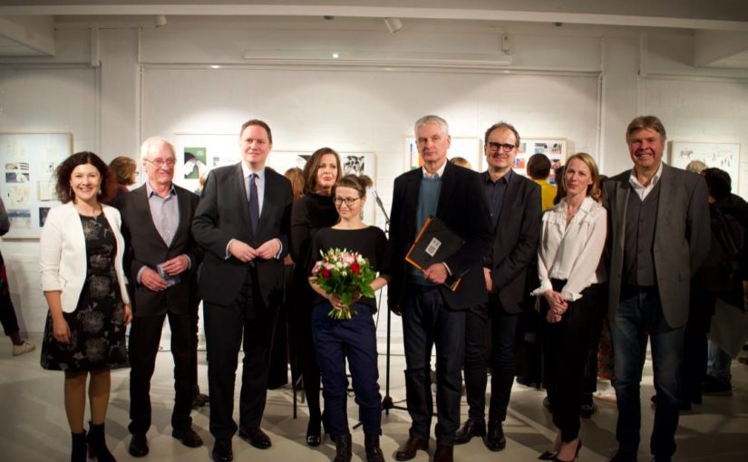 Stipendiatin der Kunststiftung Ulrike Jänichen mit Hamburger Bilderbuchpreis gewürdigt