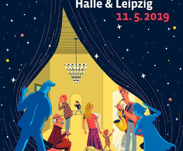 Museumsnacht Halle-Leipzig 2019: In der Kunststiftung mit dem BAUHAUS um die Welt.