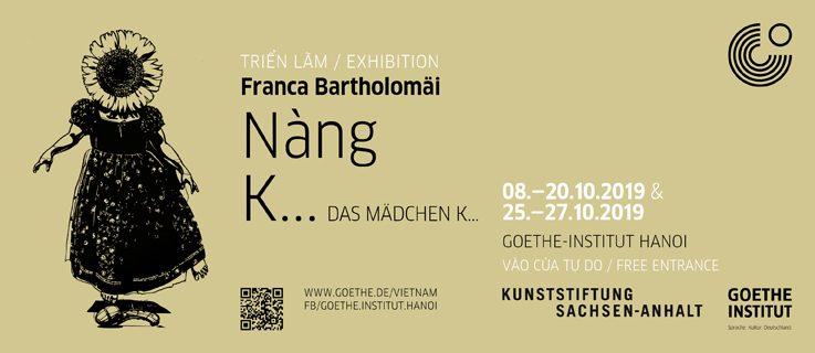 Das Mädchen Kiều: Stipendiatin der Kunststiftung Sachsen-Anhalt Franca Bartholomäi zeigt neue Werke in Hanoi
