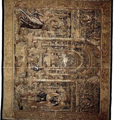 Bildteppich zierte einst einen Herrscherpalast
